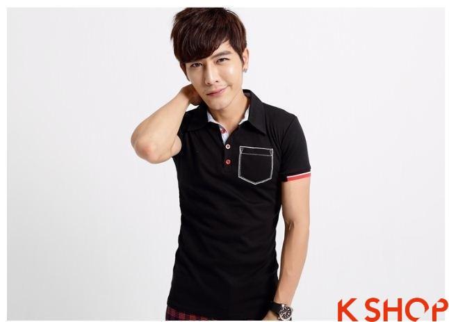 Những kiểu áo thun nam đẹp xì kul phong cách Hàn Quốc cho teenboy phần 9