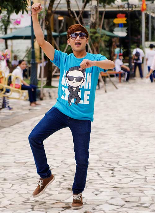 Áo thun nam hình Gangnam Style đẹp hè 2017 khiến giới trẻ phát cuồng phần 4