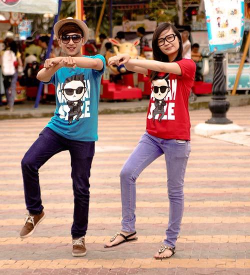 Áo thun nam hình Gangnam Style đẹp hè 2017 khiến giới trẻ phát cuồng phần 5