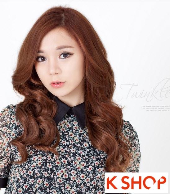 Kiểu tóc dài uốn xoăn đuôi nhẹ Hàn Quốc đẹp cho cô nàng quyến rũ 2016 phần 10