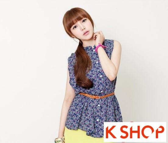 Kiểu tóc dài uốn xoăn đuôi nhẹ Hàn Quốc đẹp cho cô nàng quyến rũ 2016 phần 15