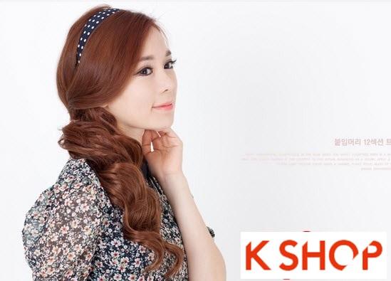 Kiểu tóc dài uốn xoăn đuôi nhẹ Hàn Quốc đẹp cho cô nàng quyến rũ 2016 phần 16