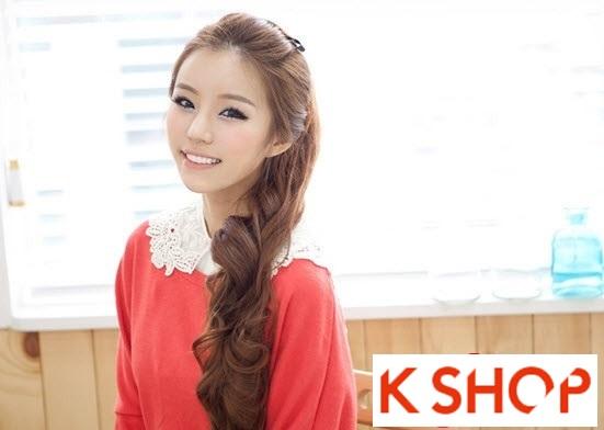 Kiểu tóc dài uốn xoăn đuôi nhẹ Hàn Quốc đẹp cho cô nàng quyến rũ 2016 phần 17