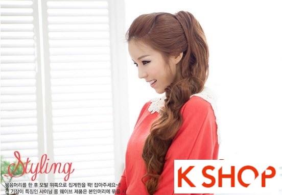 Kiểu tóc dài uốn xoăn đuôi nhẹ Hàn Quốc đẹp cho cô nàng quyến rũ 2016 phần 18