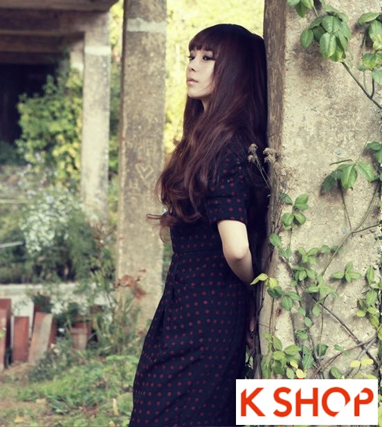Kiểu tóc dài uốn xoăn đuôi nhẹ Hàn Quốc đẹp cho cô nàng quyến rũ 2016 phần 2