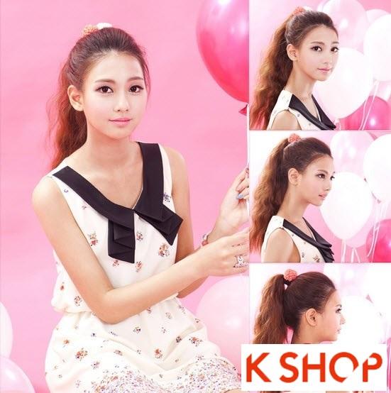 Kiểu tóc dài uốn xoăn đuôi nhẹ Hàn Quốc đẹp cho cô nàng quyến rũ 2016 phần 20