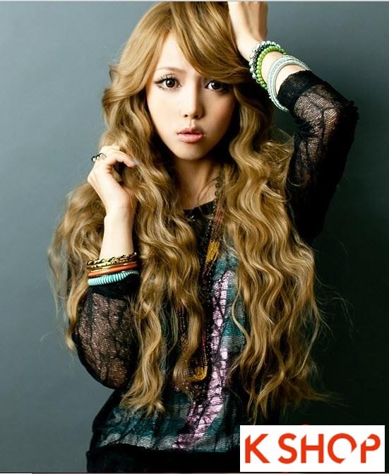 Kiểu tóc dài uốn xoăn đuôi nhẹ Hàn Quốc đẹp cho cô nàng quyến rũ 2016 phần 5