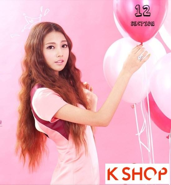 Kiểu tóc dài uốn xoăn đuôi nhẹ Hàn Quốc đẹp cho cô nàng quyến rũ 2016 phần 8
