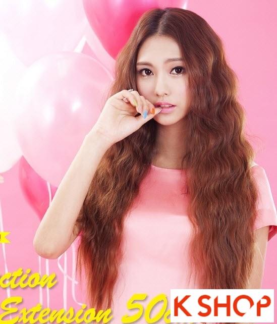 Kiểu tóc dài uốn xoăn đuôi nhẹ Hàn Quốc đẹp cho cô nàng quyến rũ 2016 phần 9