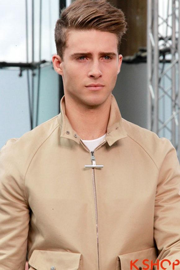 Top 14 kiểu tóc nam đẹp nhất 2017 giới trẻ Châu Âu yêu thích phần 3