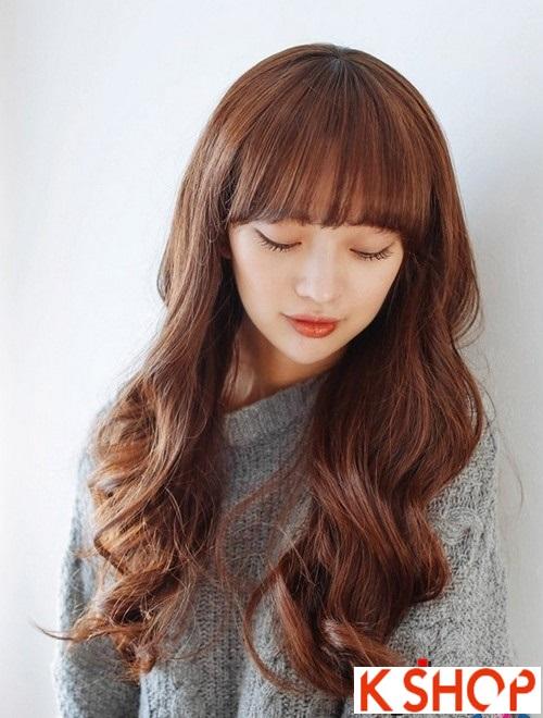 Kiểu tóc xoăn Hàn Quốc cực đẹp cho cô nàng xinh xắn quyến rũ hè 2016 phần 1