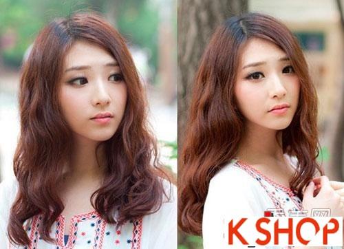 Kiểu tóc xoăn Hàn Quốc cực đẹp cho cô nàng xinh xắn quyến rũ hè 2016 phần 6