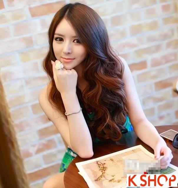 Kiểu tóc xoăn Hàn Quốc cực đẹp cho cô nàng xinh xắn quyến rũ hè 2016 phần 8