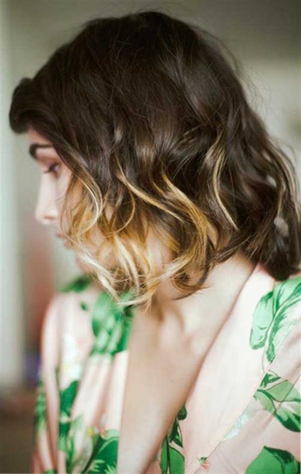 15 kiểu nhuộm ombre đẹp cho nàng tóc ngắn cực cá tính phần 1