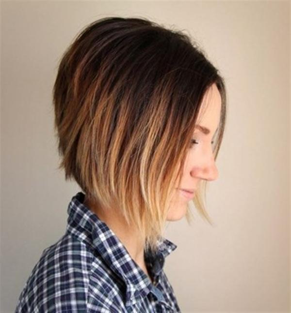 15 kiểu nhuộm ombre đẹp cho nàng tóc ngắn cực cá tính phần 13
