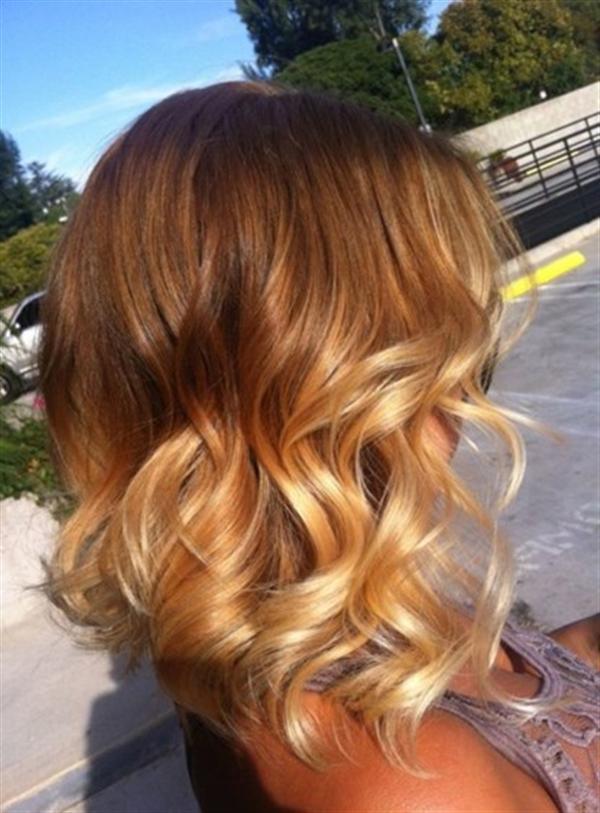 15 kiểu nhuộm ombre đẹp cho nàng tóc ngắn cực cá tính phần 14