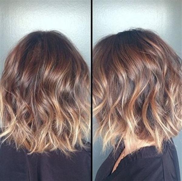 15 kiểu nhuộm ombre đẹp cho nàng tóc ngắn cực cá tính phần 3