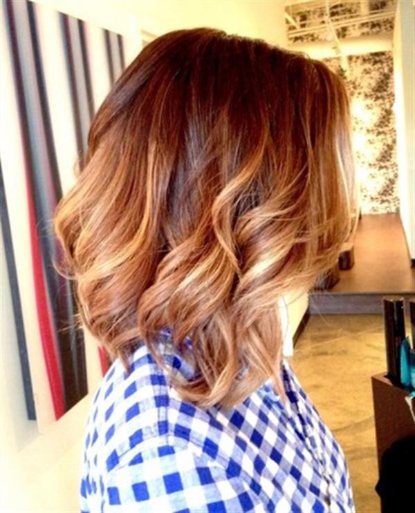 15 kiểu nhuộm ombre đẹp cho nàng tóc ngắn cực cá tính phần 4