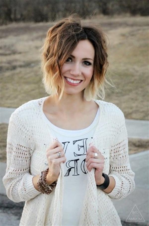 15 kiểu nhuộm ombre đẹp cho nàng tóc ngắn cực cá tính phần 5