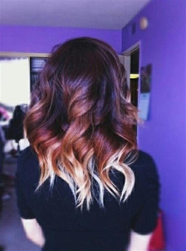 15 kiểu nhuộm ombre đẹp cho nàng tóc ngắn cực cá tính phần 7