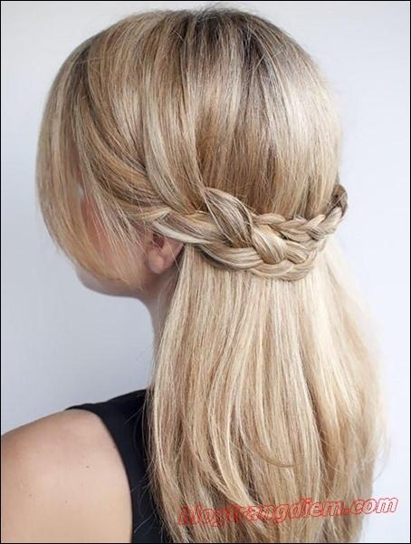 2 Cách tết tóc đẹp đơn giản cho cô nàng thêm đáng yêu đầy dịu dàng phần 1