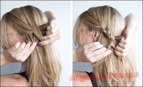 2 Cách tết tóc đẹp đơn giản cho cô nàng thêm đáng yêu đầy dịu dàng phần 2