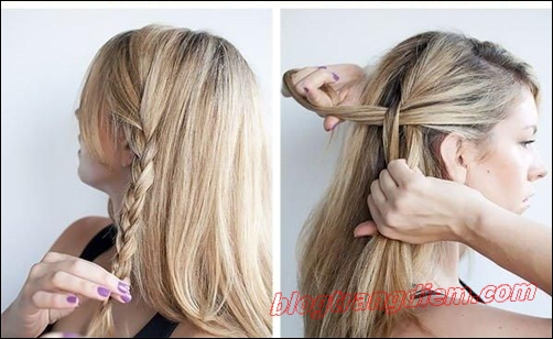 2 Cách tết tóc đẹp đơn giản cho cô nàng thêm đáng yêu đầy dịu dàng phần 3