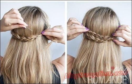 2 Cách tết tóc đẹp đơn giản cho cô nàng thêm đáng yêu đầy dịu dàng phần 4