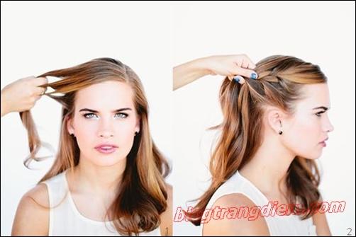 2 Cách tết tóc đẹp đơn giản cho cô nàng thêm đáng yêu đầy dịu dàng phần 6