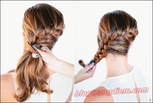 2 Cách tết tóc đẹp đơn giản cho cô nàng thêm đáng yêu đầy dịu dàng phần 7