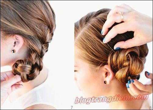 2 Cách tết tóc đẹp đơn giản cho cô nàng thêm đáng yêu đầy dịu dàng phần 8