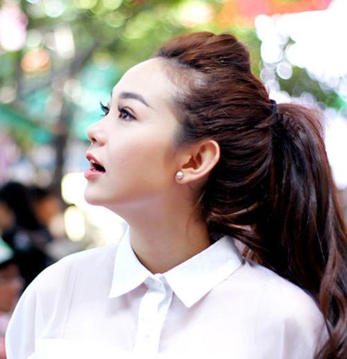 4 kiểu tóc đẹp sao Việt 2015 xuống phố hay dự event năm nay phần 10