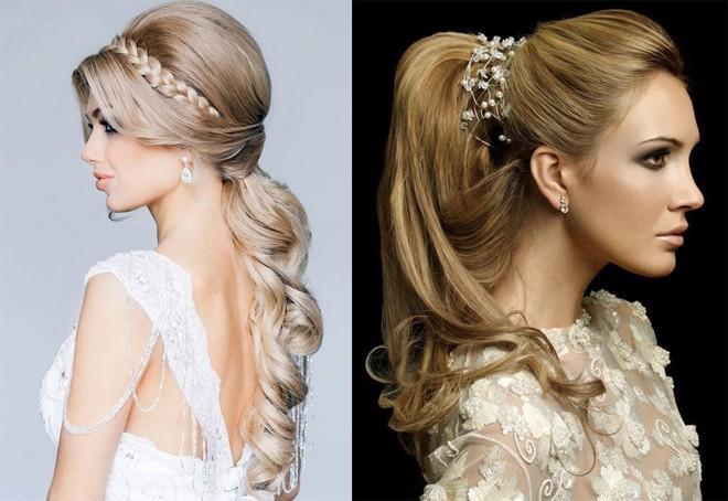 6 kiểu tóc buông dài đẹp duyên dáng nữ tính cho cô dâu ngày cưới phần 14