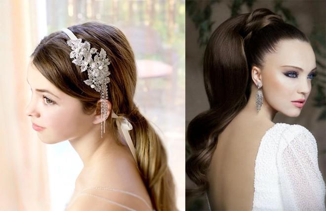 6 kiểu tóc buông dài đẹp duyên dáng nữ tính cho cô dâu ngày cưới phần 15