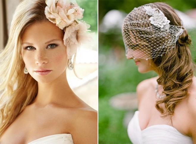 6 kiểu tóc buông dài đẹp duyên dáng nữ tính cho cô dâu ngày cưới phần 18