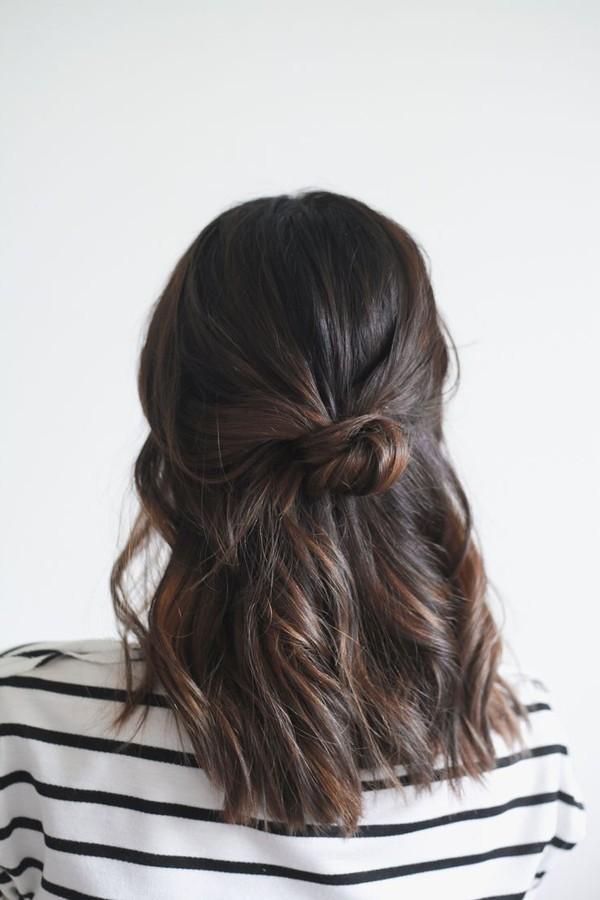 9 kiểu tóc búi cực xinh cho nàng tha hồ biến tấu sành điệu mỗi ngày đến chốn sở làm phần 1
