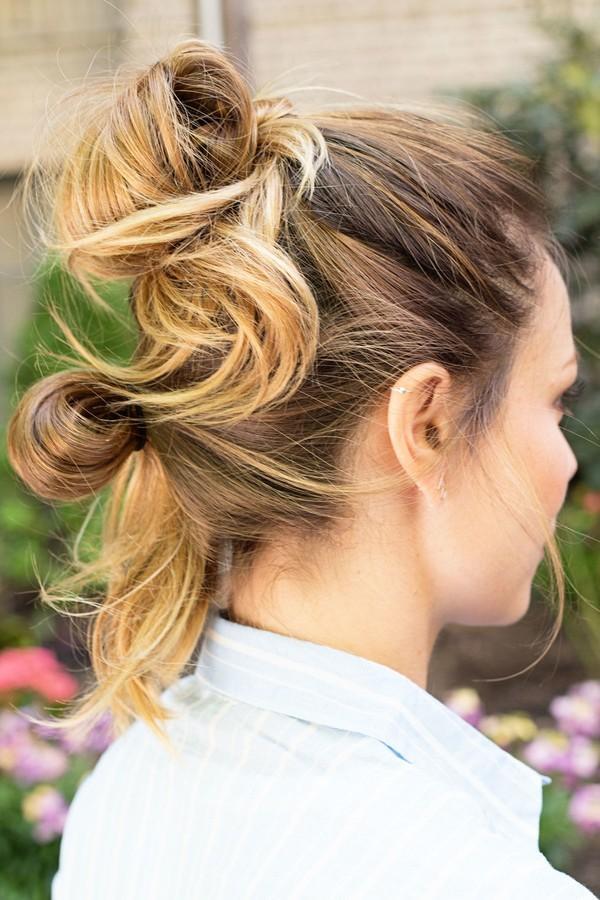 9 kiểu tóc búi cực xinh cho nàng tha hồ biến tấu sành điệu mỗi ngày đến chốn sở làm phần 12