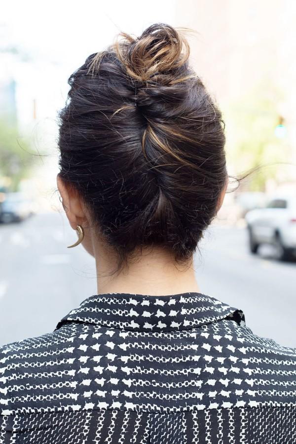 9 kiểu tóc búi cực xinh cho nàng tha hồ biến tấu sành điệu mỗi ngày đến chốn sở làm phần 13