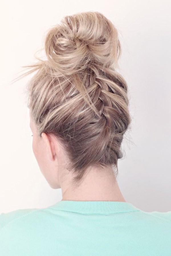 9 kiểu tóc búi cực xinh cho nàng tha hồ biến tấu sành điệu mỗi ngày đến chốn sở làm phần 15
