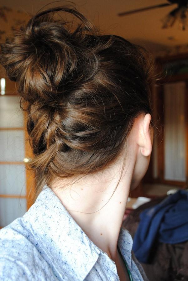 9 kiểu tóc búi cực xinh cho nàng tha hồ biến tấu sành điệu mỗi ngày đến chốn sở làm phần 16