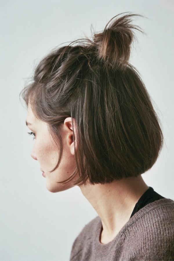 9 kiểu tóc búi cực xinh cho nàng tha hồ biến tấu sành điệu mỗi ngày đến chốn sở làm phần 2