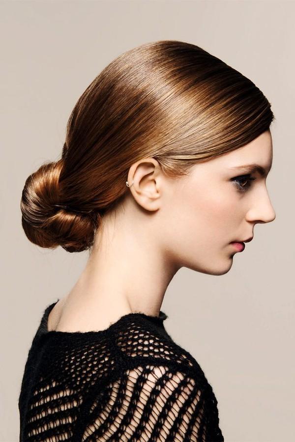 9 kiểu tóc búi cực xinh cho nàng tha hồ biến tấu sành điệu mỗi ngày đến chốn sở làm phần 3