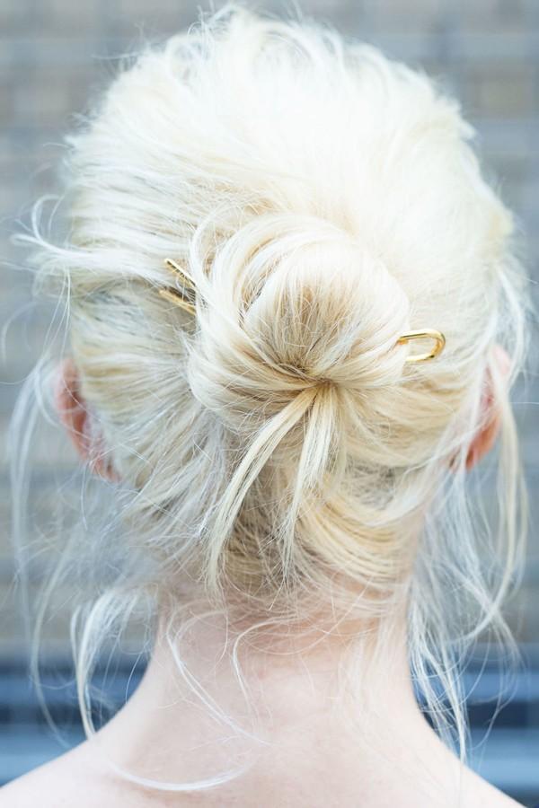 9 kiểu tóc búi cực xinh cho nàng tha hồ biến tấu sành điệu mỗi ngày đến chốn sở làm phần 8