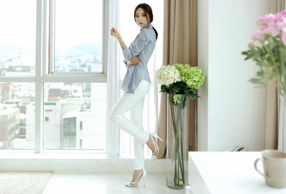 Áo sơ mi nữ cách điệu Hàn Quốc đẹp món đồ theo chân nàng ở khắp mọi nơi phần 2
