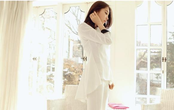 Áo sơ mi nữ cách điệu Hàn Quốc đẹp món đồ theo chân nàng ở khắp mọi nơi phần 6