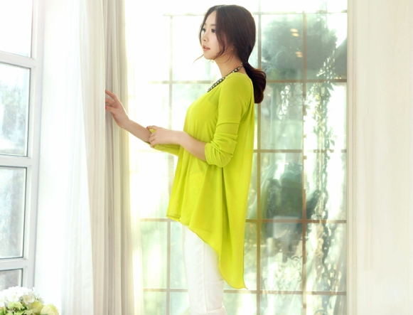 Áo sơ mi nữ cách điệu Hàn Quốc đẹp món đồ theo chân nàng ở khắp mọi nơi phần 9