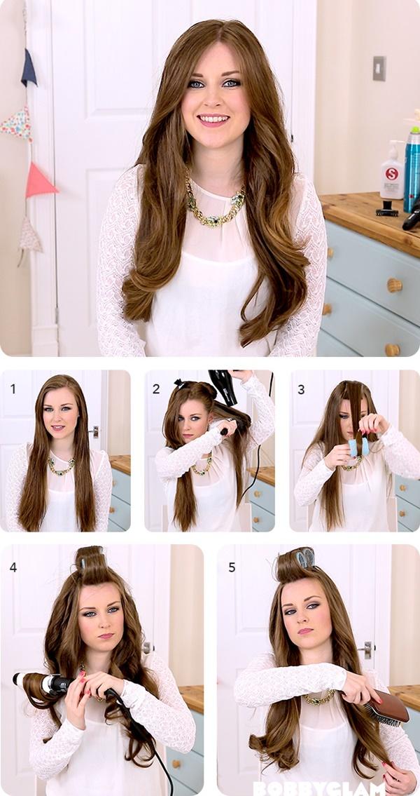 Hướng dẫn 3 cách sấy tóc cho mái tóc bạn dày và bồng bềnh lâu mà không làm hư tổn tóc phần 1
