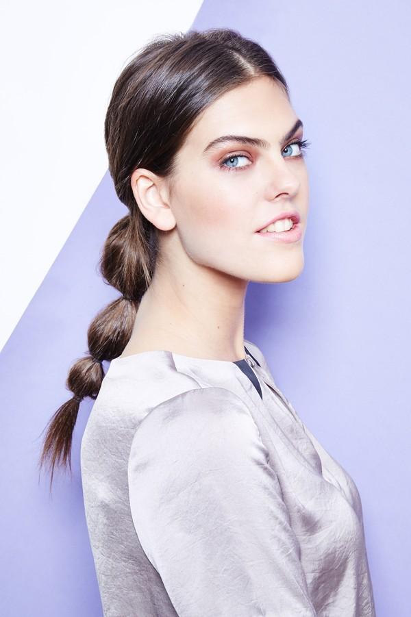 Hướng dẫn 5 cách làm kiểu tóc đuôi ngựa đẹp cho nàng sành điệu dạo phố cuối tuần hè 2015 phần 10