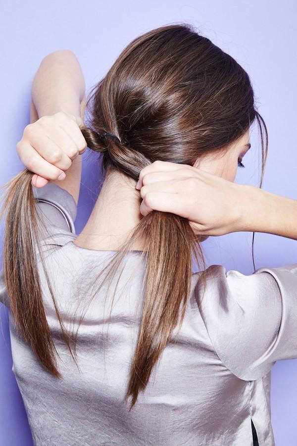 Hướng dẫn 5 cách làm kiểu tóc đuôi ngựa đẹp cho nàng sành điệu dạo phố cuối tuần hè 2015 phần 12