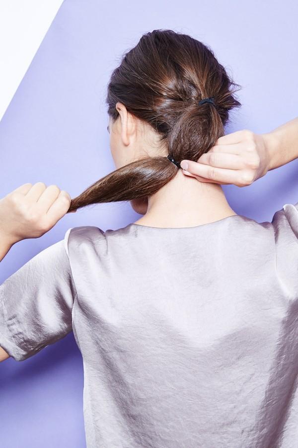 Hướng dẫn 5 cách làm kiểu tóc đuôi ngựa đẹp cho nàng sành điệu dạo phố cuối tuần hè 2015 phần 15